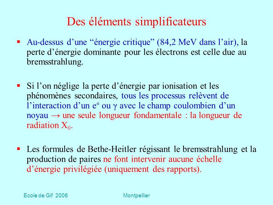 Des éléments simplificateurs