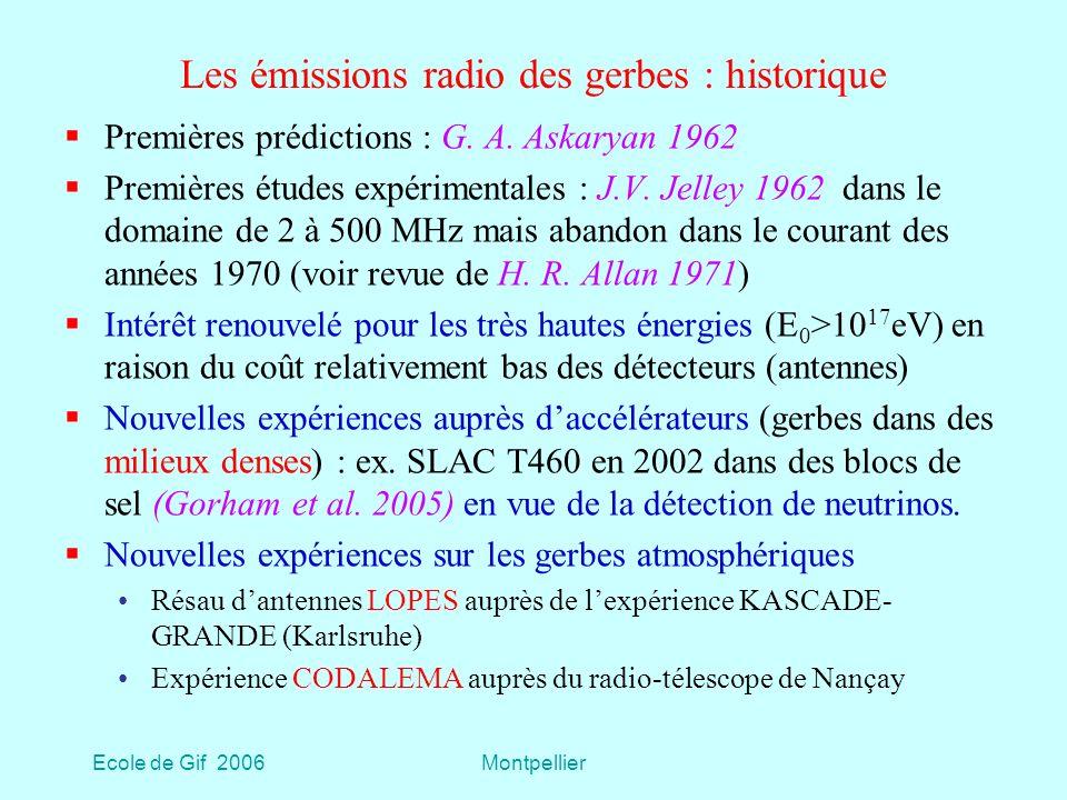 Les émissions radio des gerbes : historique