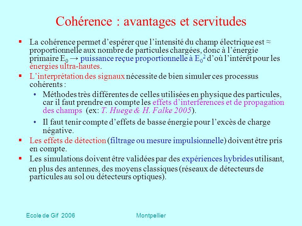 Cohérence : avantages et servitudes