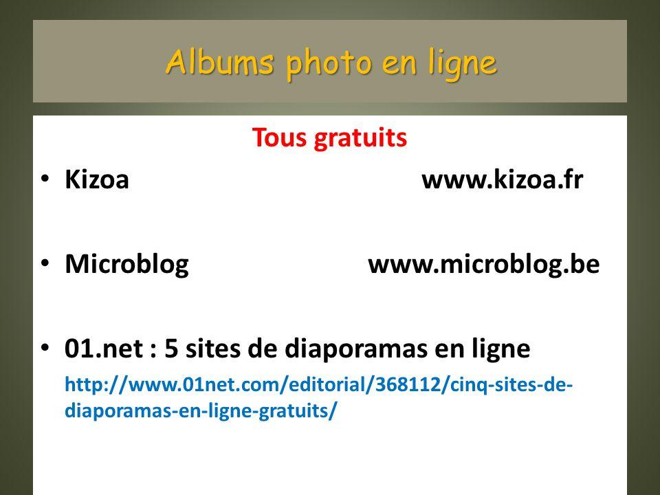 Albums photo en ligne Tous gratuits Kizoa www.kizoa.fr