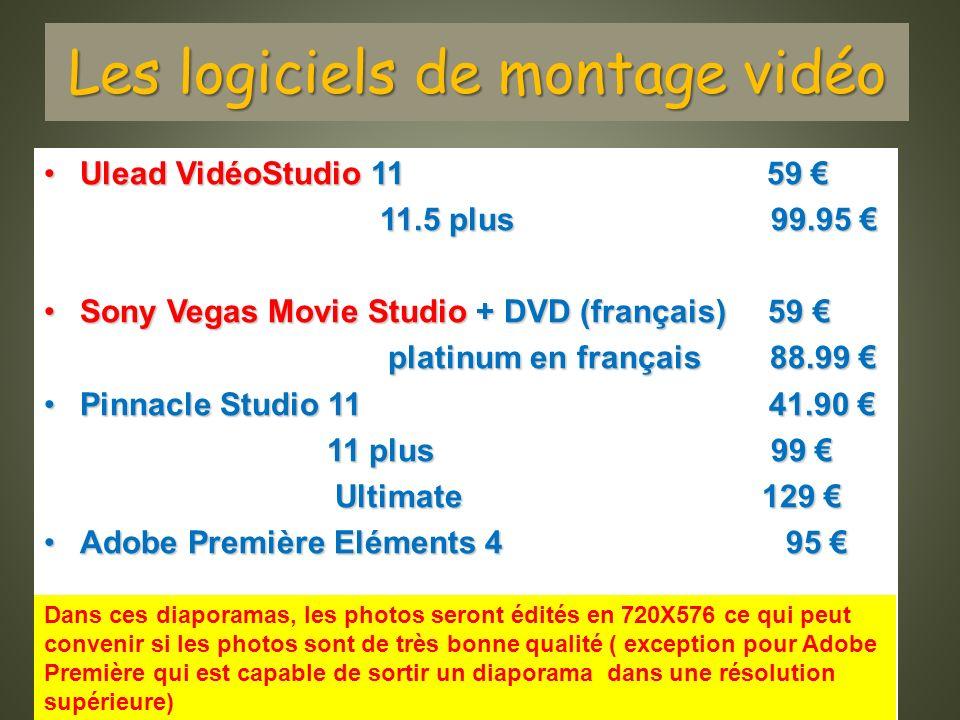 Les logiciels de montage vidéo