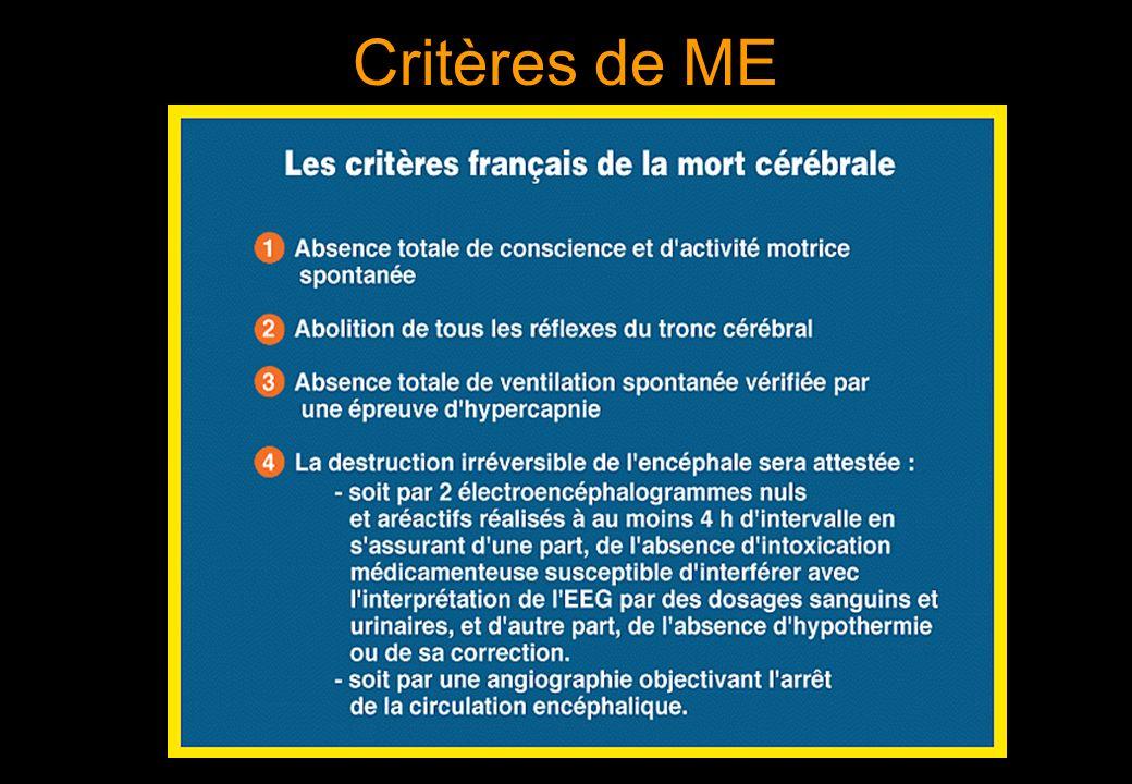 Critères de ME