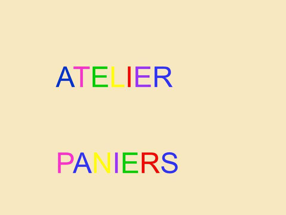 ATELIER PANIERS