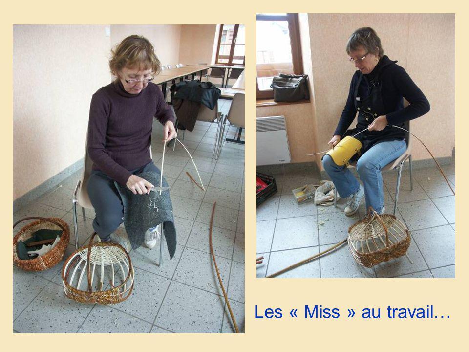 Les « Miss » au travail…
