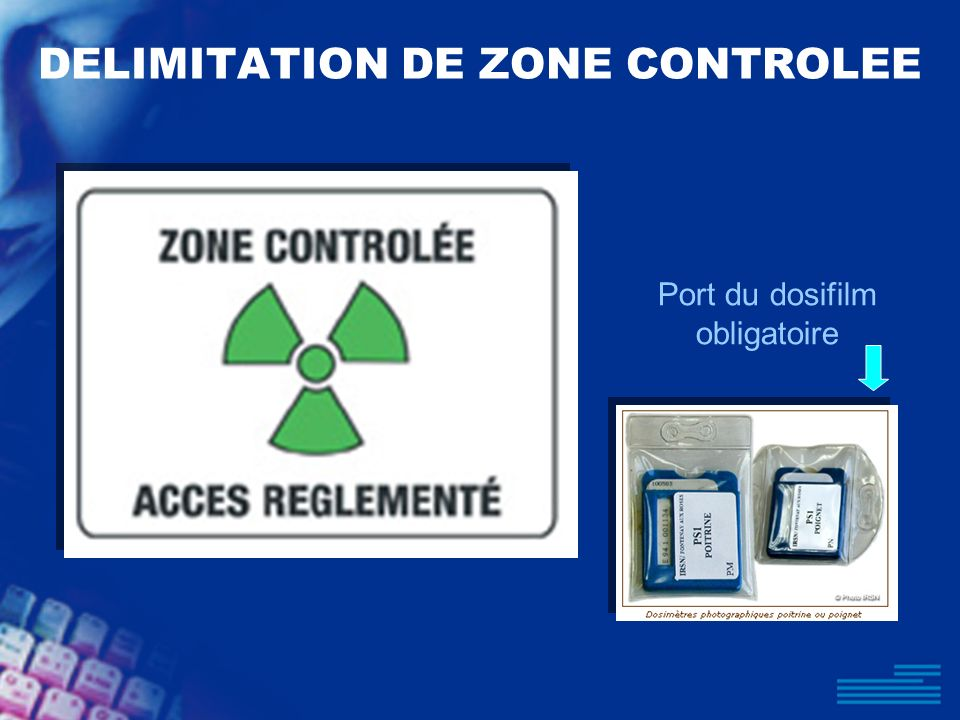 DELIMITATION DE ZONE CONTROLEE