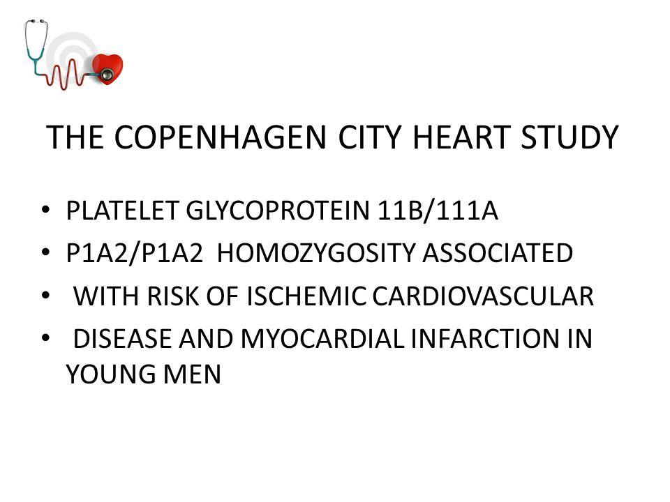 THE COPENHAGEN CITY HEART STUDY
