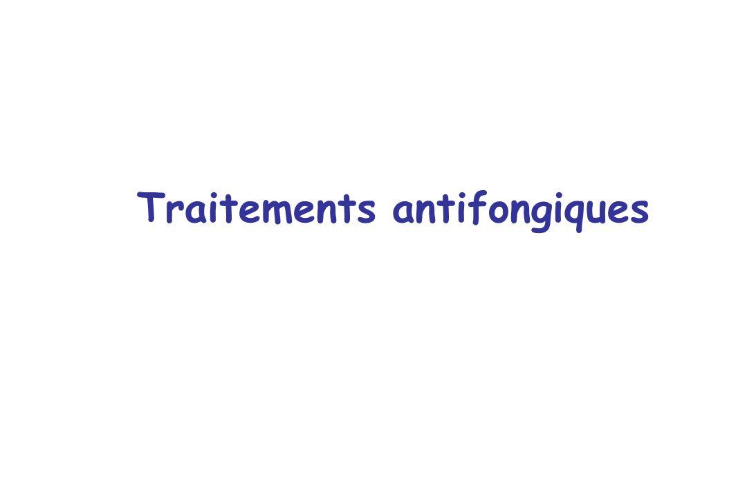 Traitements antifongiques