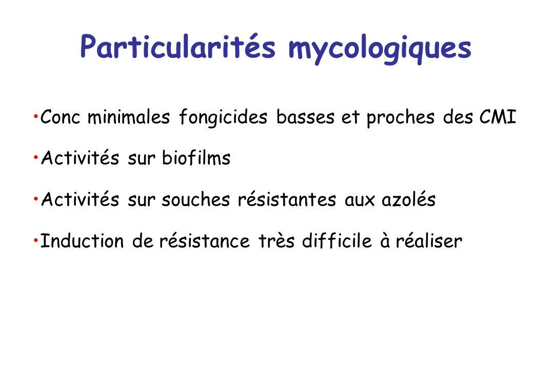 Particularités mycologiques