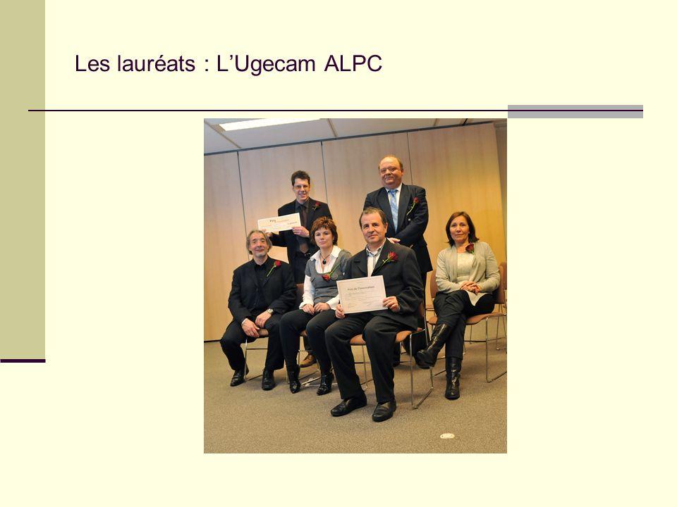 Les lauréats : L'Ugecam ALPC