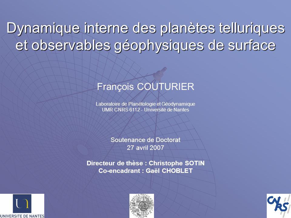Directeur de thèse : Christophe SOTIN Co-encadrant : Gaël CHOBLET
