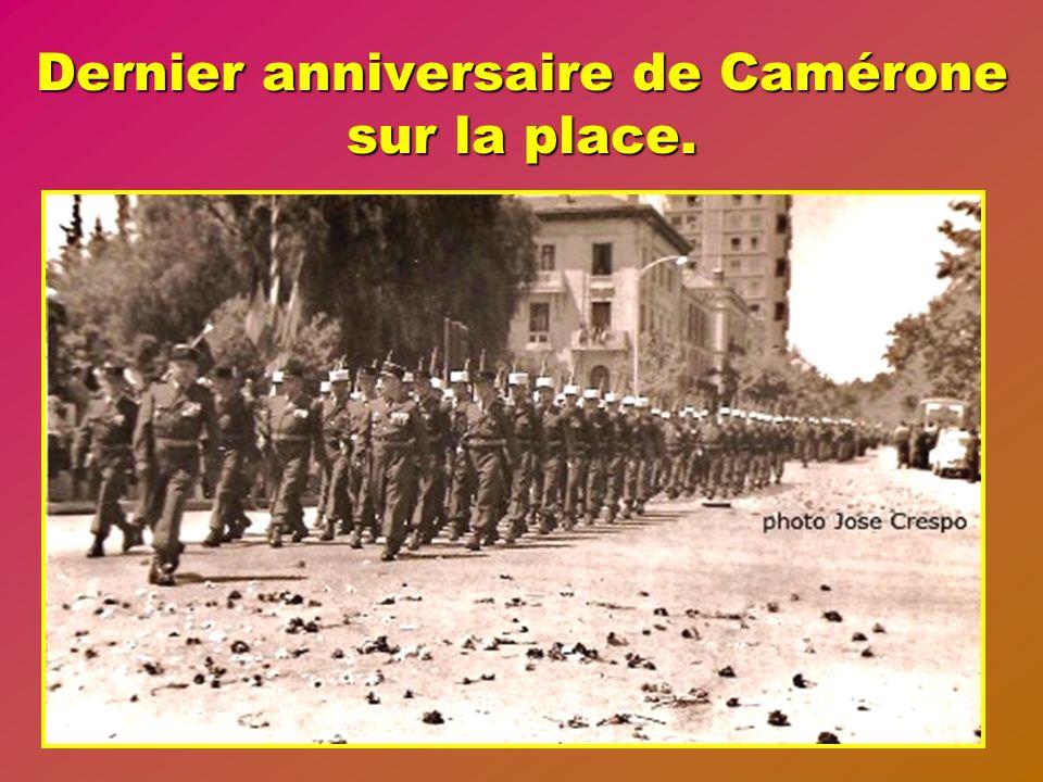 Dernier anniversaire de Camérone sur la place.
