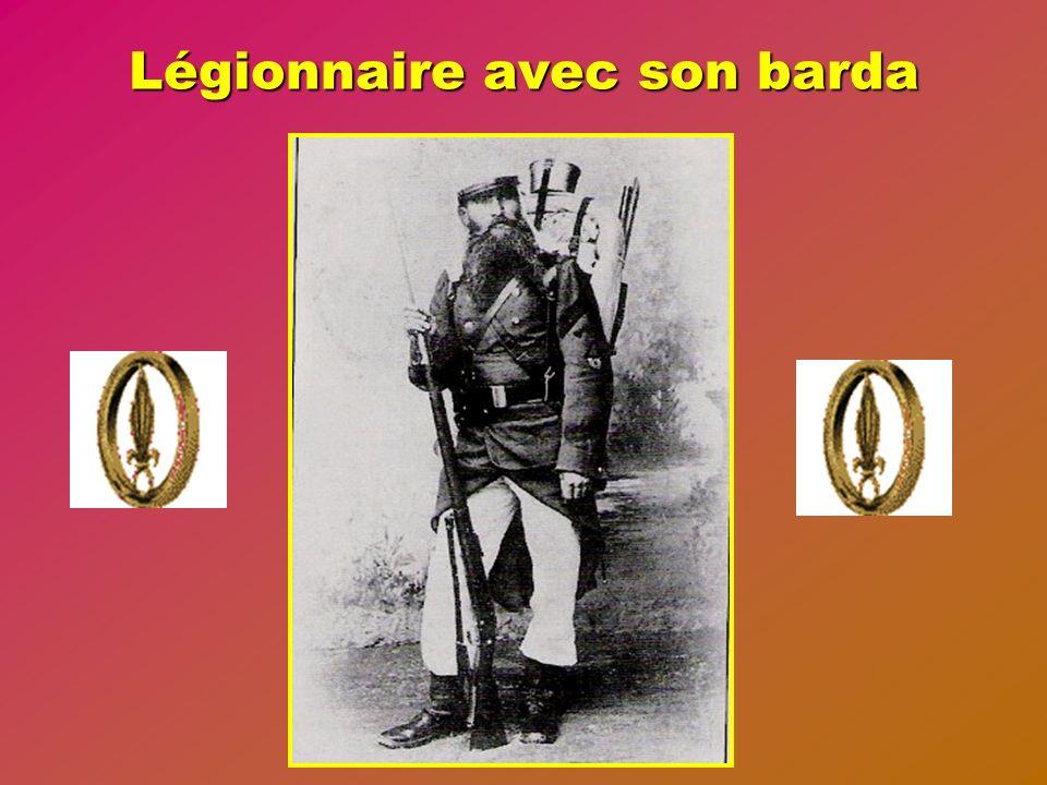 Légionnaire avec son barda