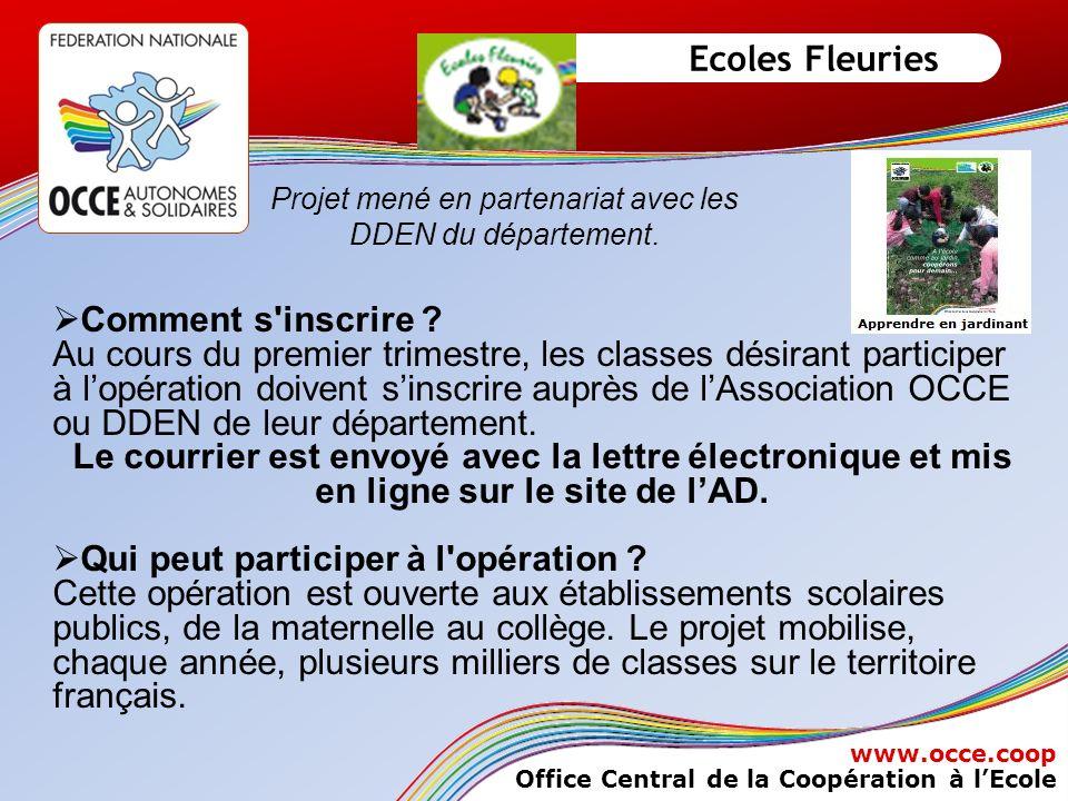 Projet mené en partenariat avec les DDEN du département.