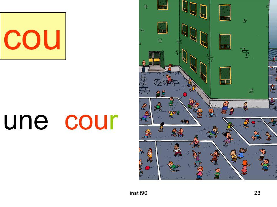 cour cou une cour instit90