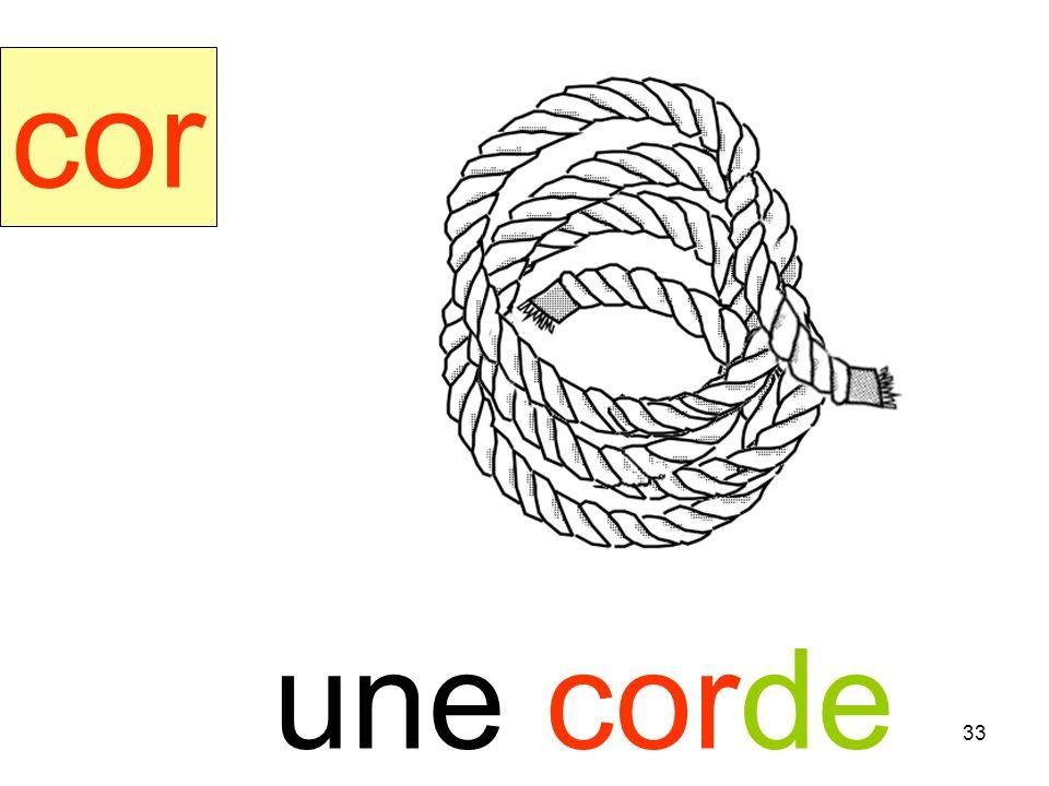 corde cor une corde instit90