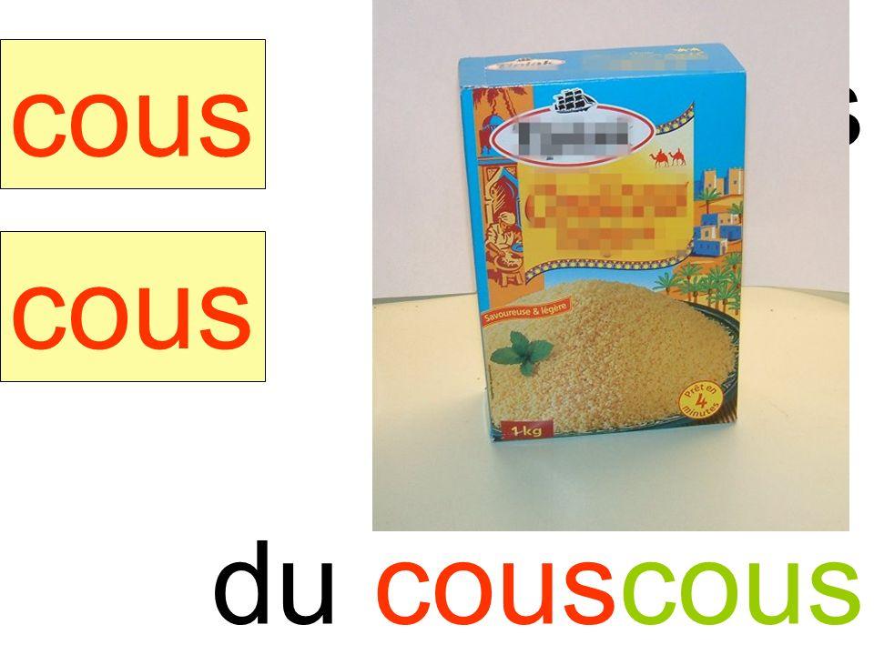 couscous cous cous du couscous instit90