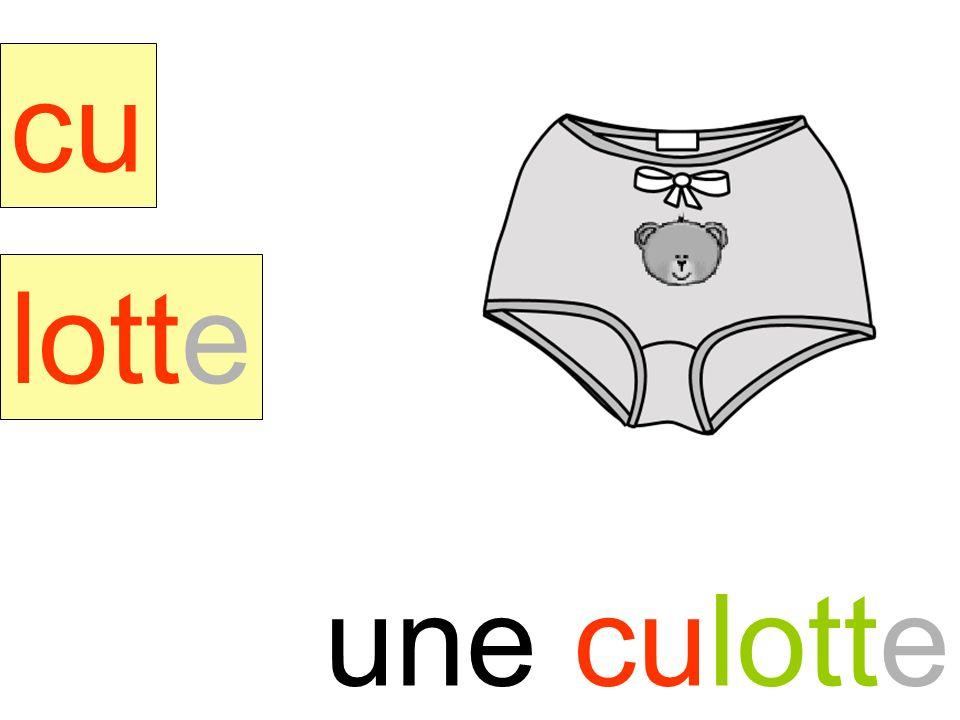 culotte cu lotte une culotte instit90
