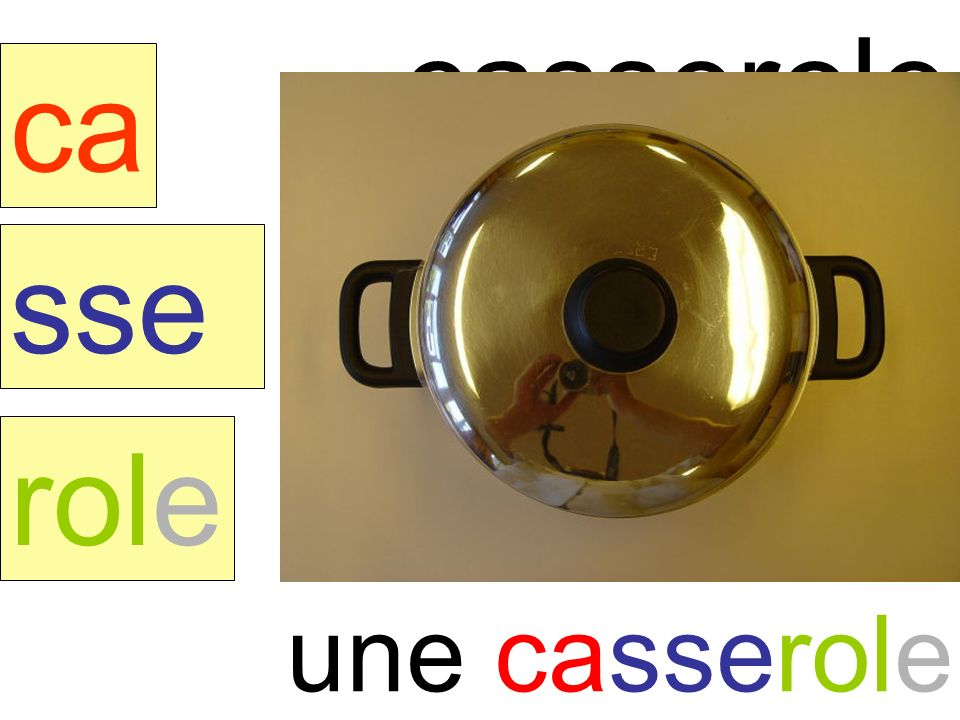 casserole ca sse role une casserole instit90