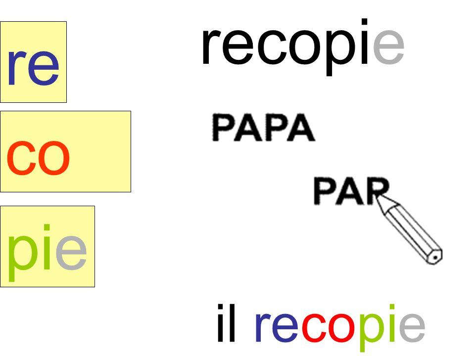 recopie re co pie il recopie instit90