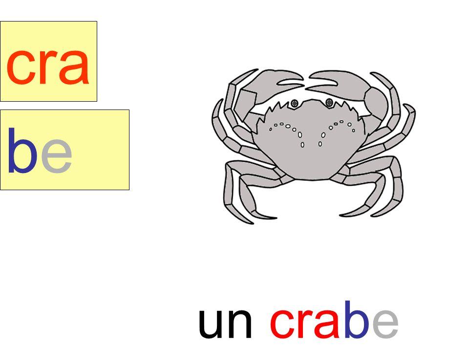 crabe cra be un crabe instit90