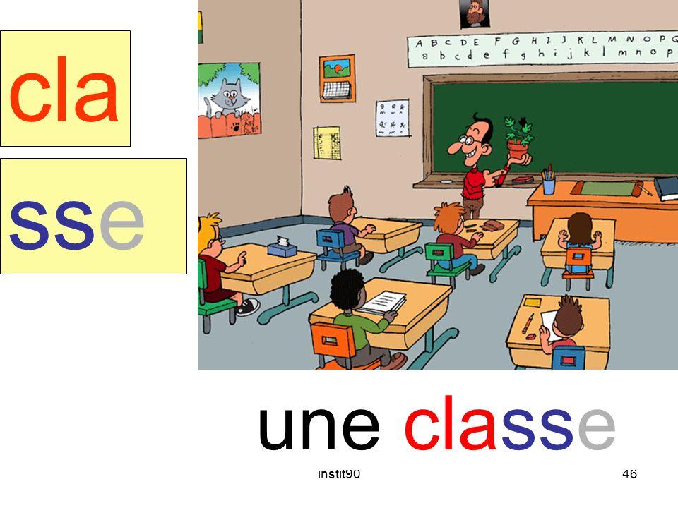 classe cla sse une classe instit90