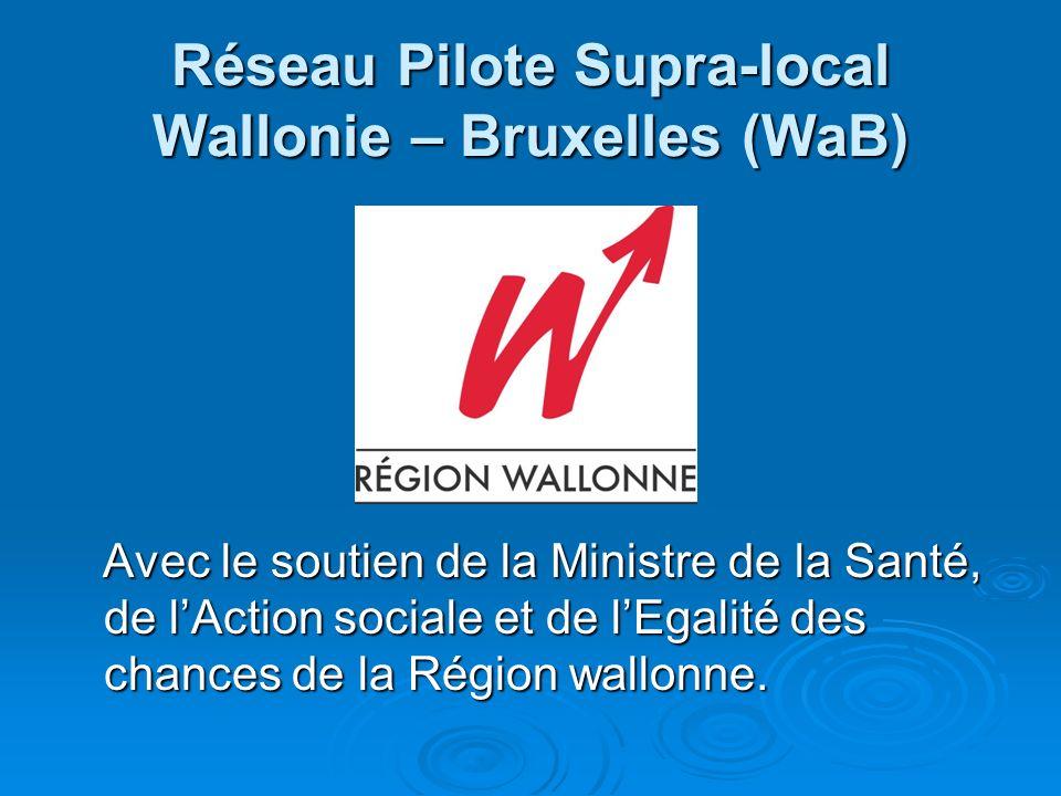 Réseau Pilote Supra-local Wallonie – Bruxelles (WaB)