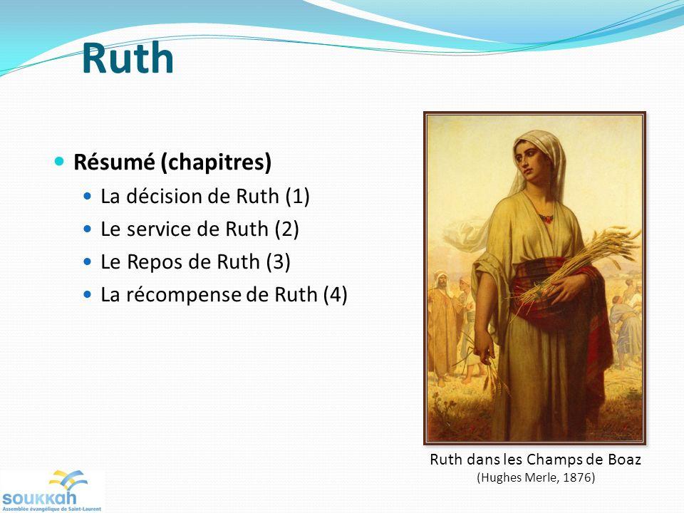 Ruth dans les Champs de Boaz