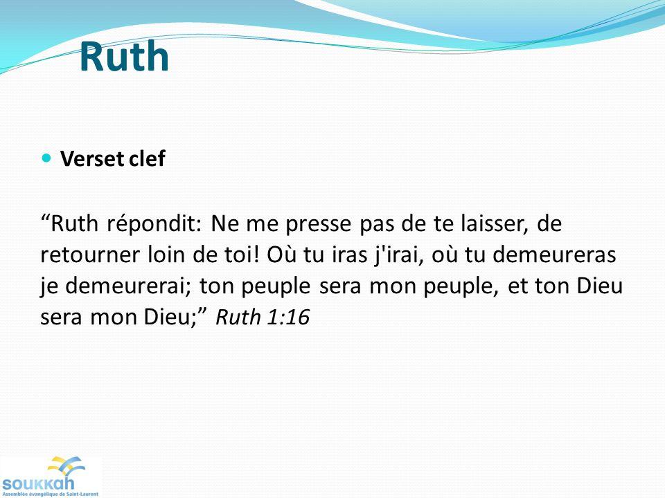 Ruth Verset clef.