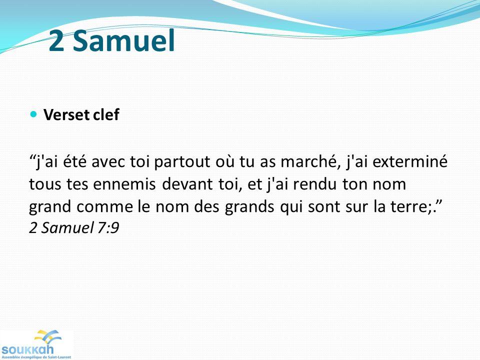 2 Samuel Verset clef.