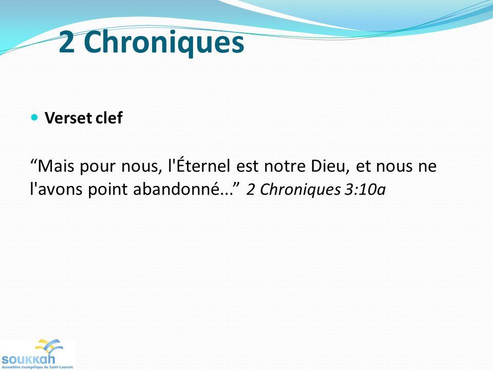 2 Chroniques Verset clef
