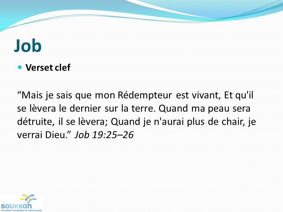Job Verset clef.