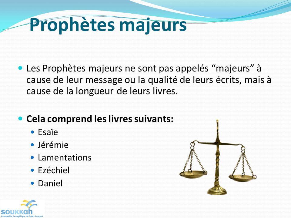 Prophètes majeurs