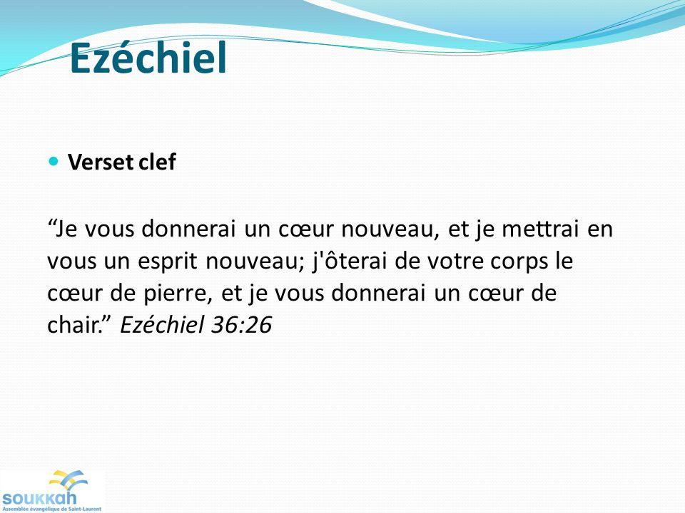 Ezéchiel Verset clef.