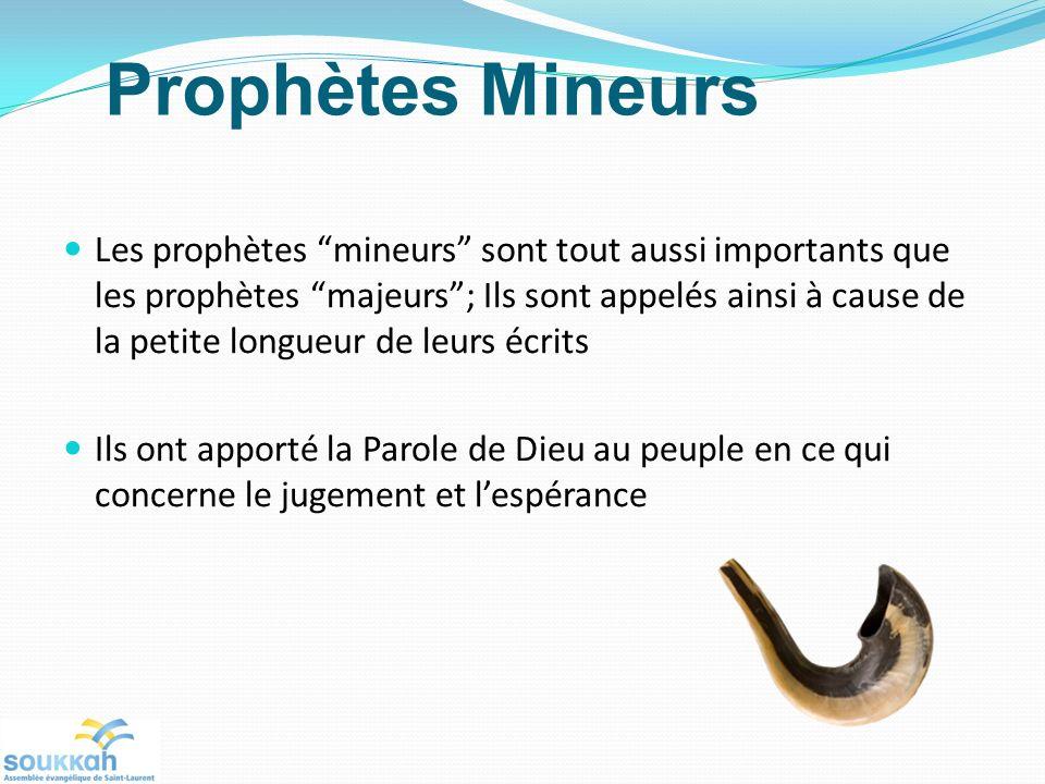 Prophètes Mineurs