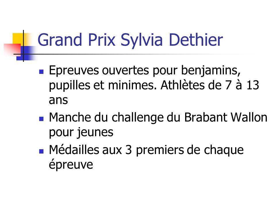 Grand Prix Sylvia Dethier