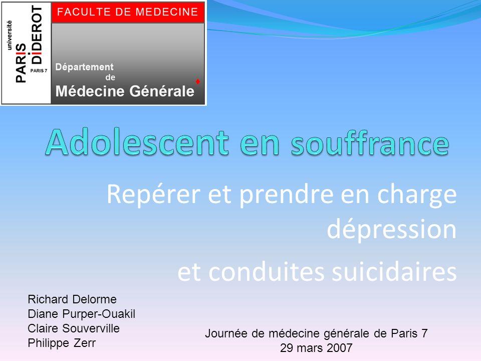 Adolescent en souffrance