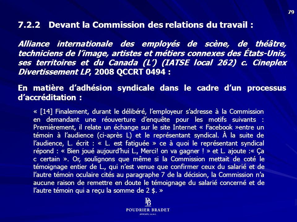 Durocher-Lalonde c. 9096-0469 Québec inc., 2011 QCCRT 0490 :