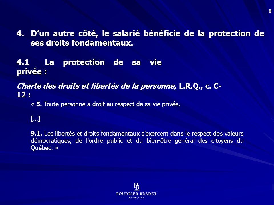 Code civil du Québec :