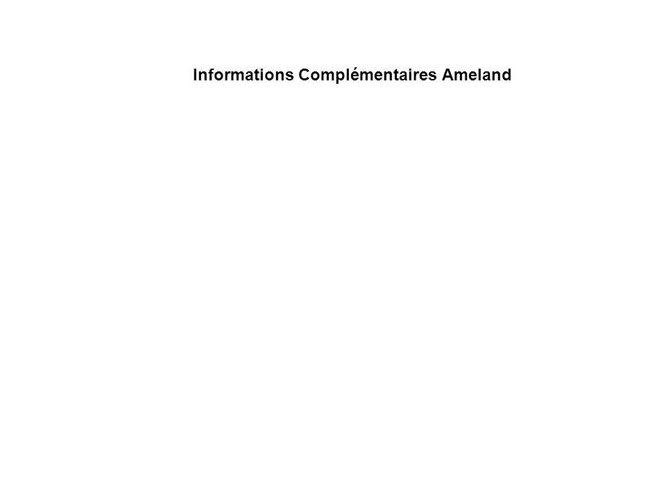 Informations Complémentaires Ameland