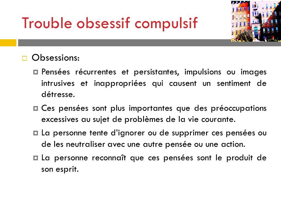 Trouble obsessif compulsif