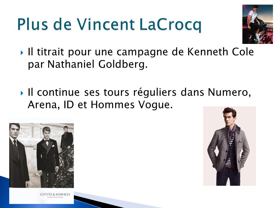 Plus de Vincent LaCrocq