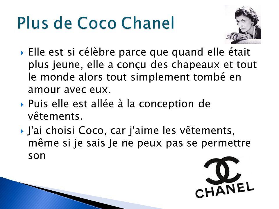 Plus de Coco Chanel