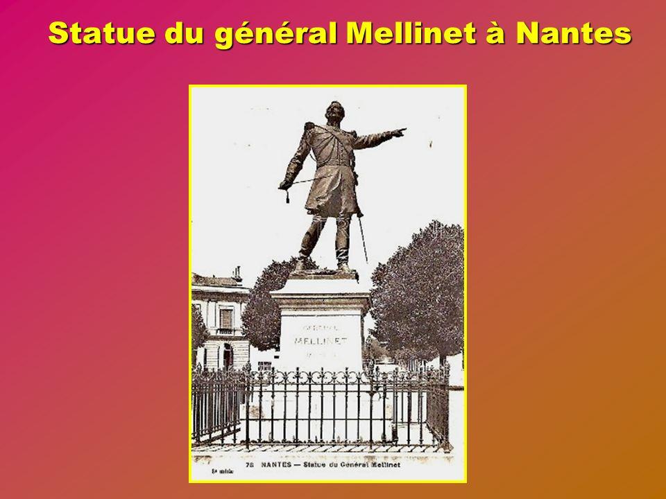 Statue du général Mellinet à Nantes