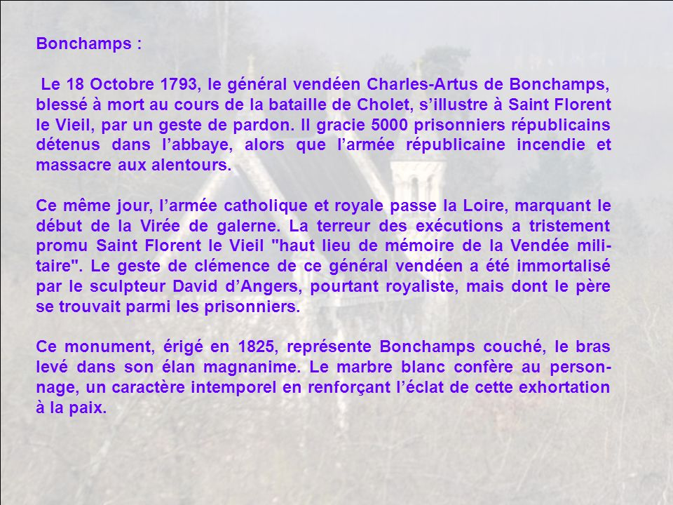 Bonchamps :