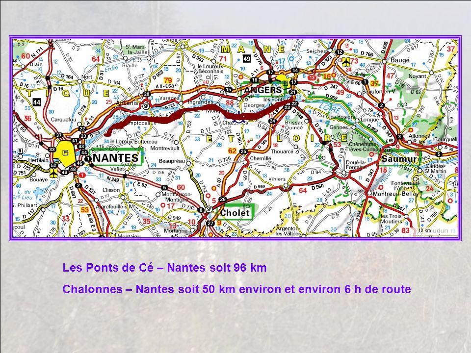 Les Ponts de Cé – Nantes soit 96 km