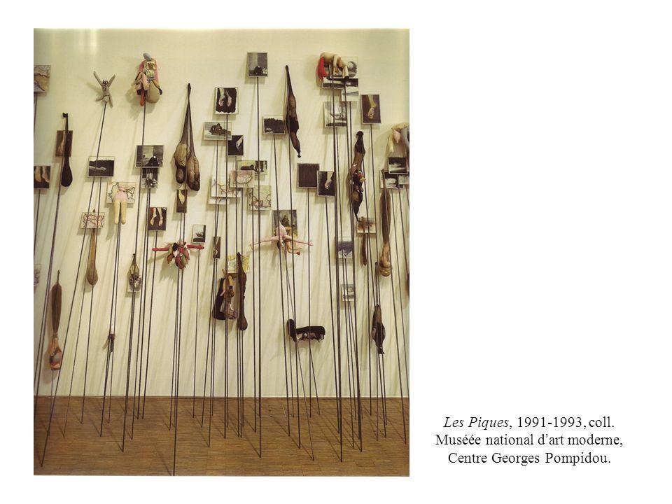 Les Piques, 1991-1993, coll. Muséée national d'art moderne, Centre Georges Pompidou.