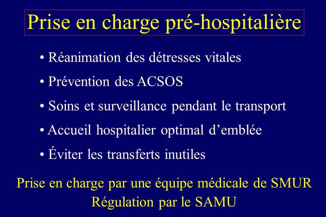 Prise en charge pré-hospitalière