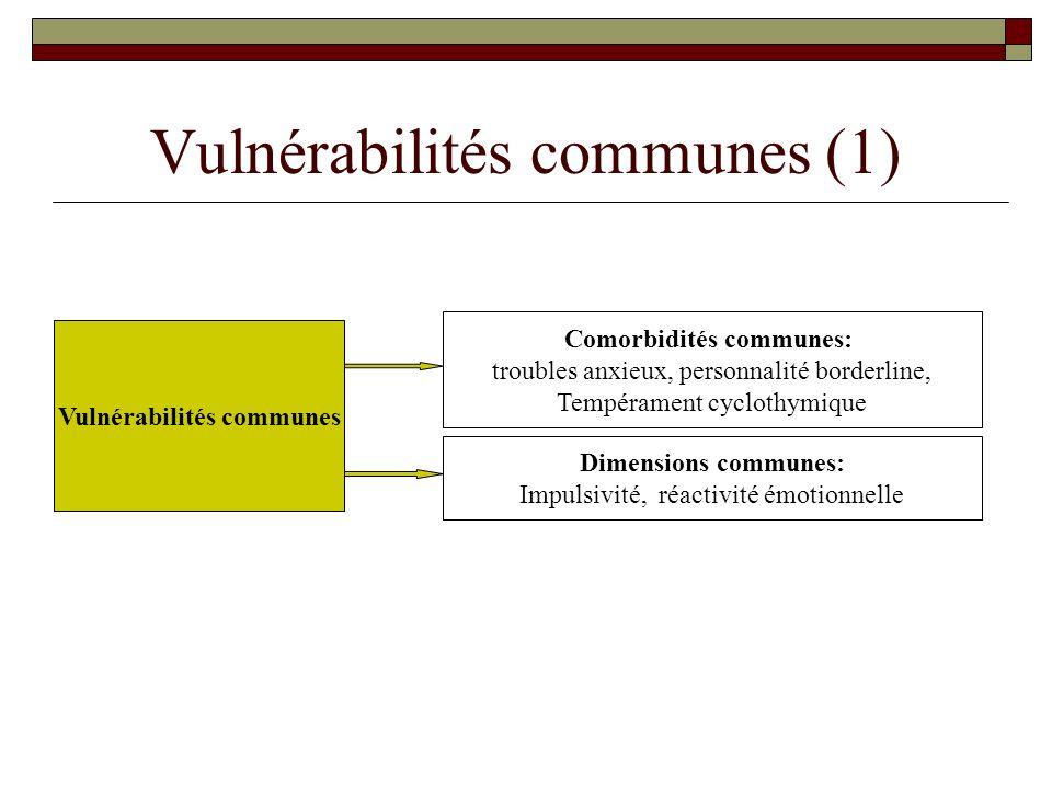 Vulnérabilités communes (1)