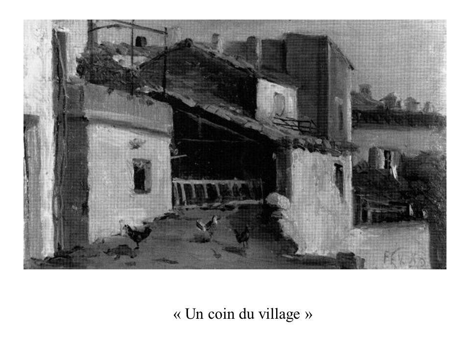 « Un coin du village »