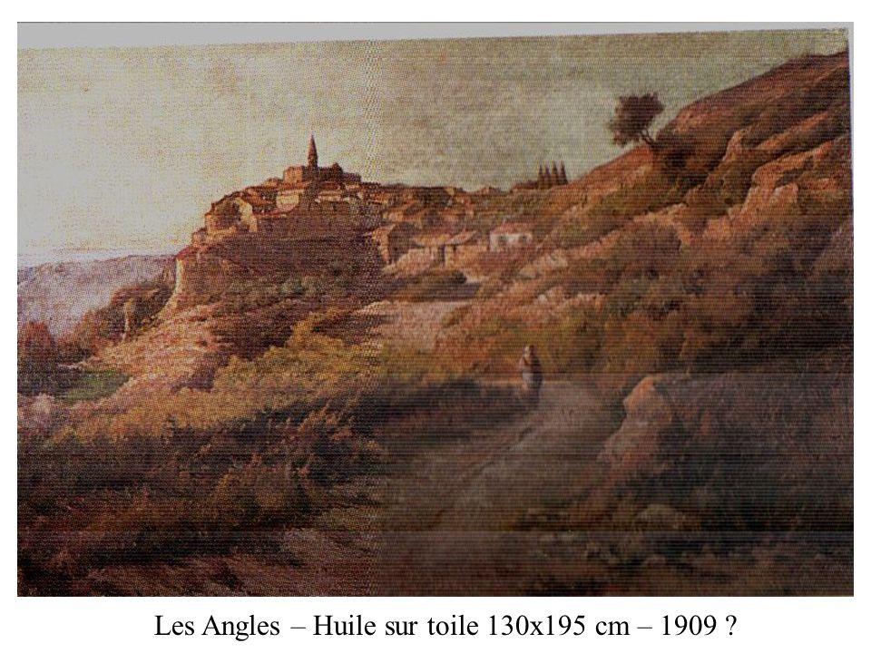 Les Angles – Huile sur toile 130x195 cm – 1909